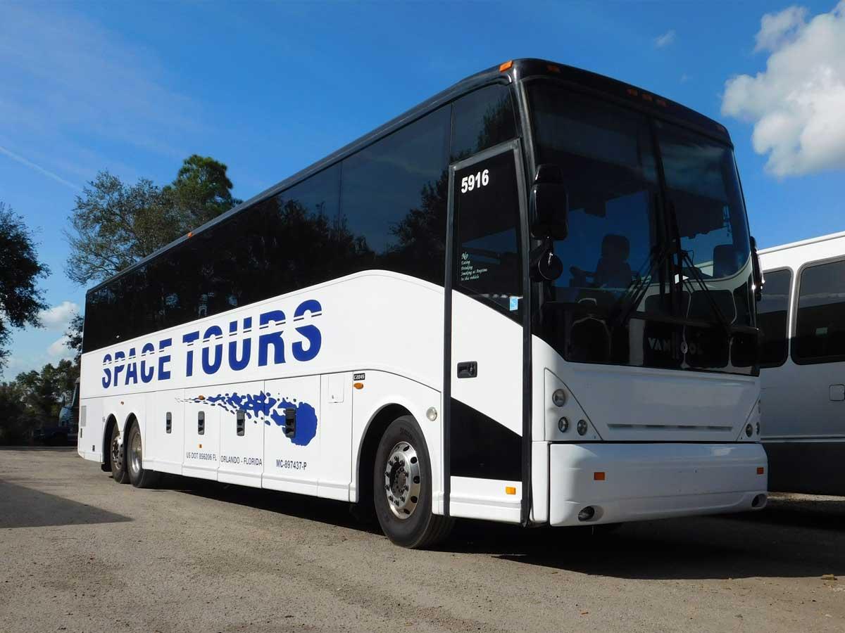 Orlando Florida Bus Charter Motor Coach Group